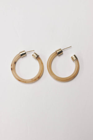 MOOMOO HOOP EARRINGS