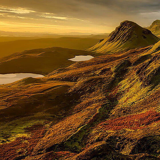 The Highland & Islands whisky-producing region of Scotland.