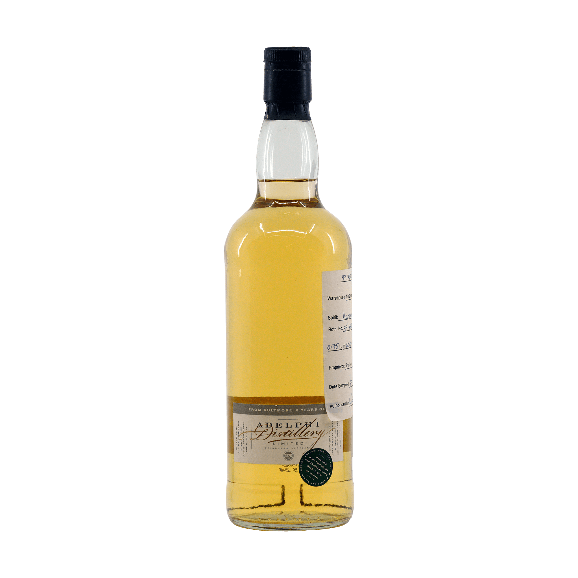 Aultmore 1989 8 Year Old Adelphi 60.20%
