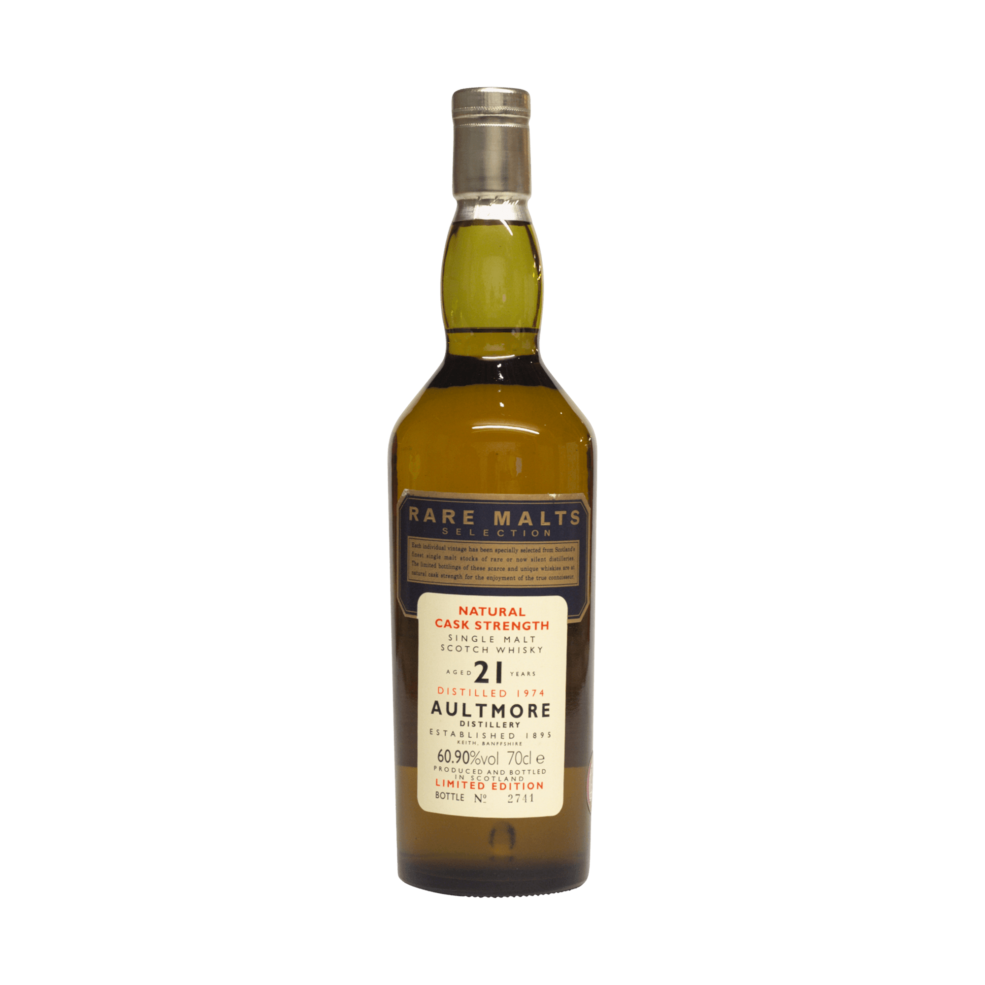 Aultmore 1974 21 Year Old Rare Malts Selection 60.90%