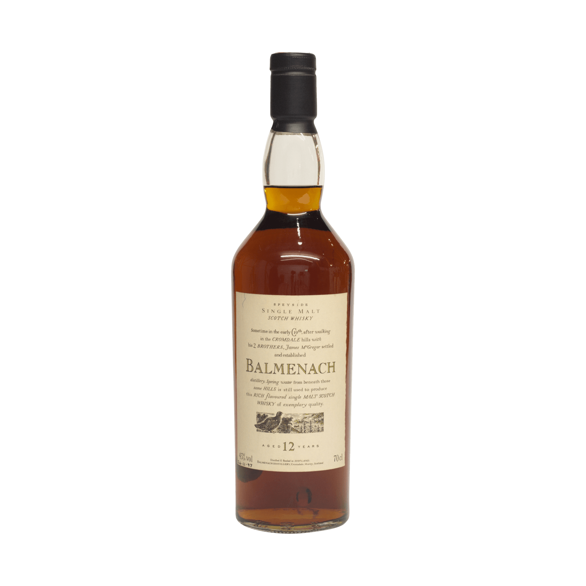 Balmenach 12 Year Old 'Flora and Fauna' 43.00%