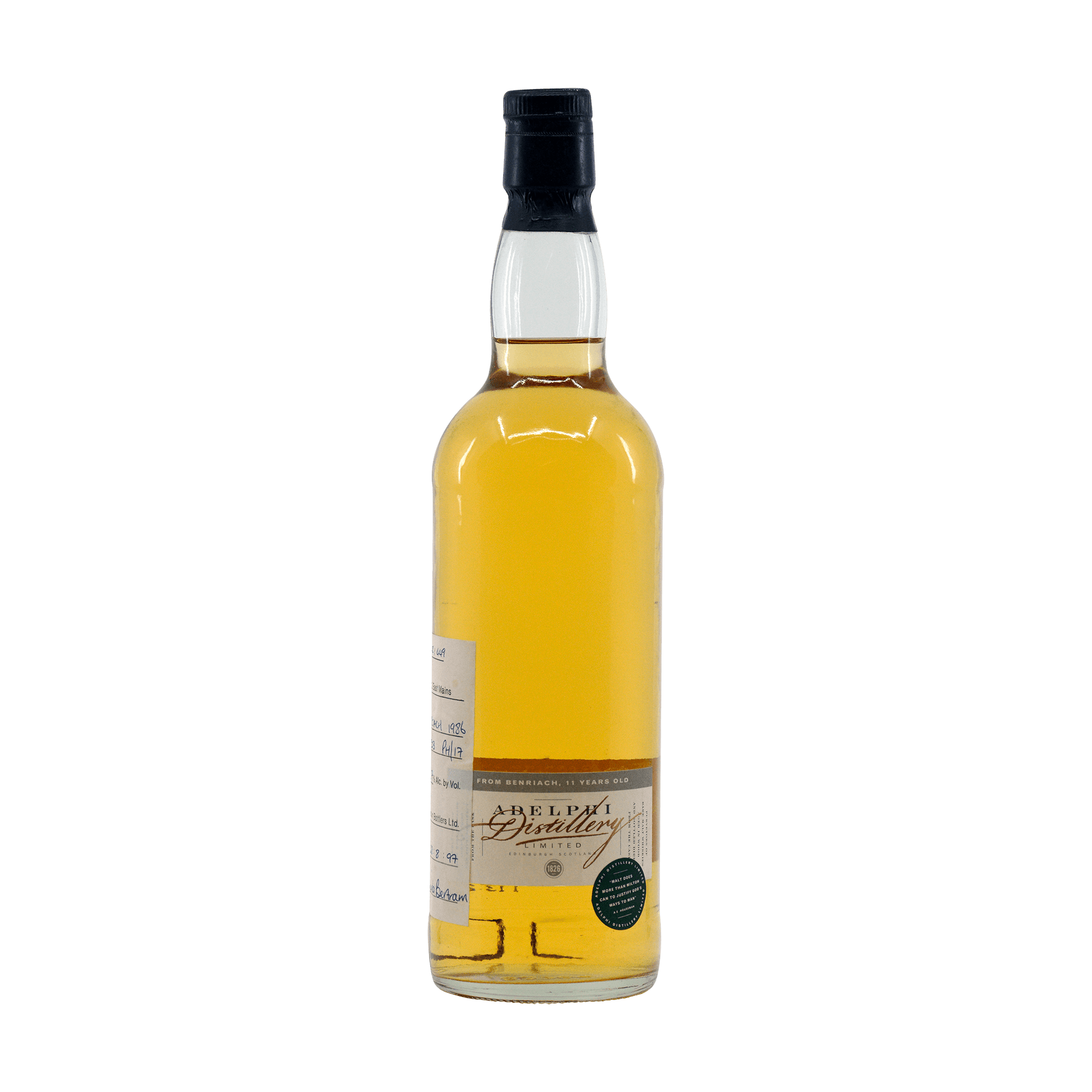 BenRiach 1986 11 Year Old Adelphi 63.50%