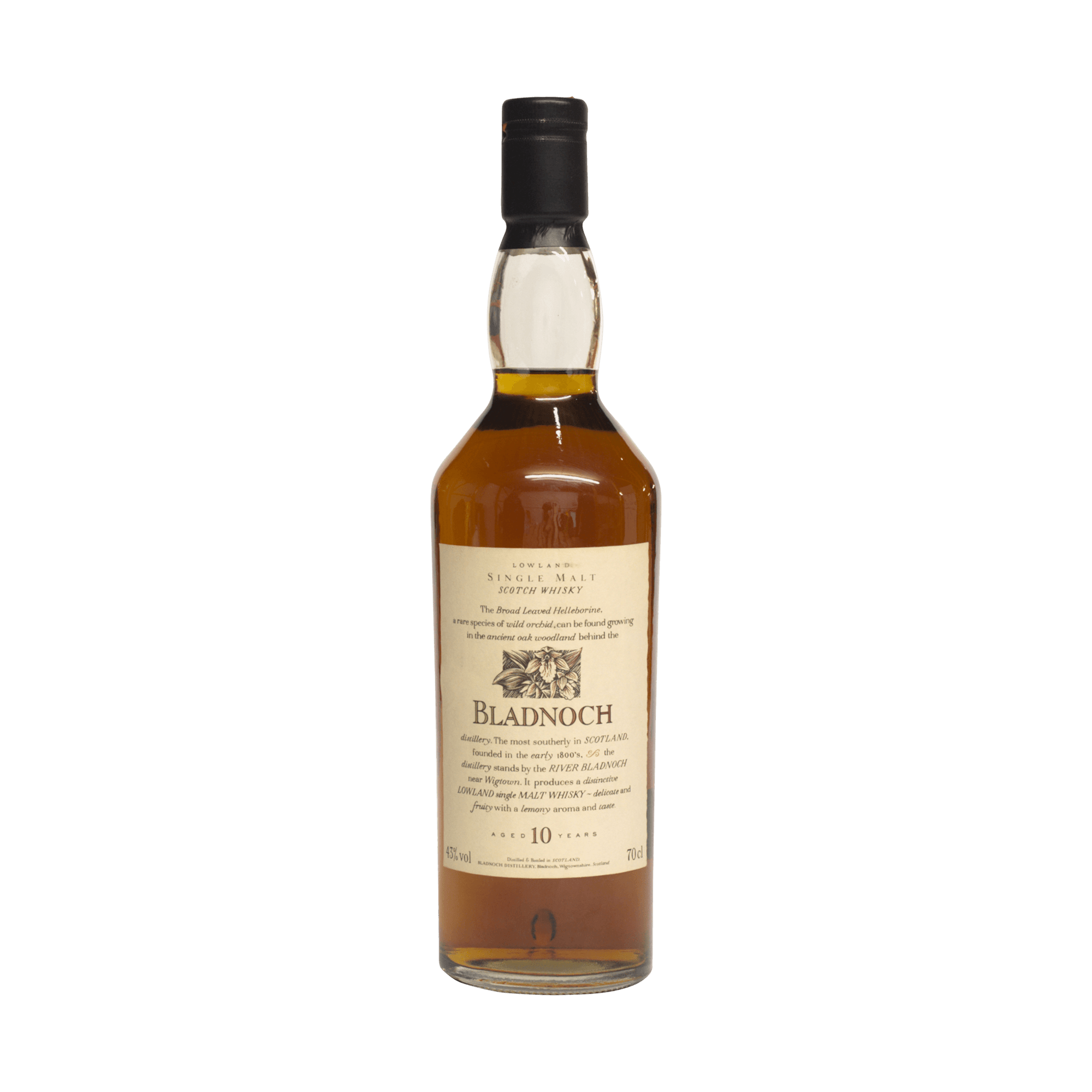 Bladnoch 10 Year Old 'Flora and Fauna' 43.00%