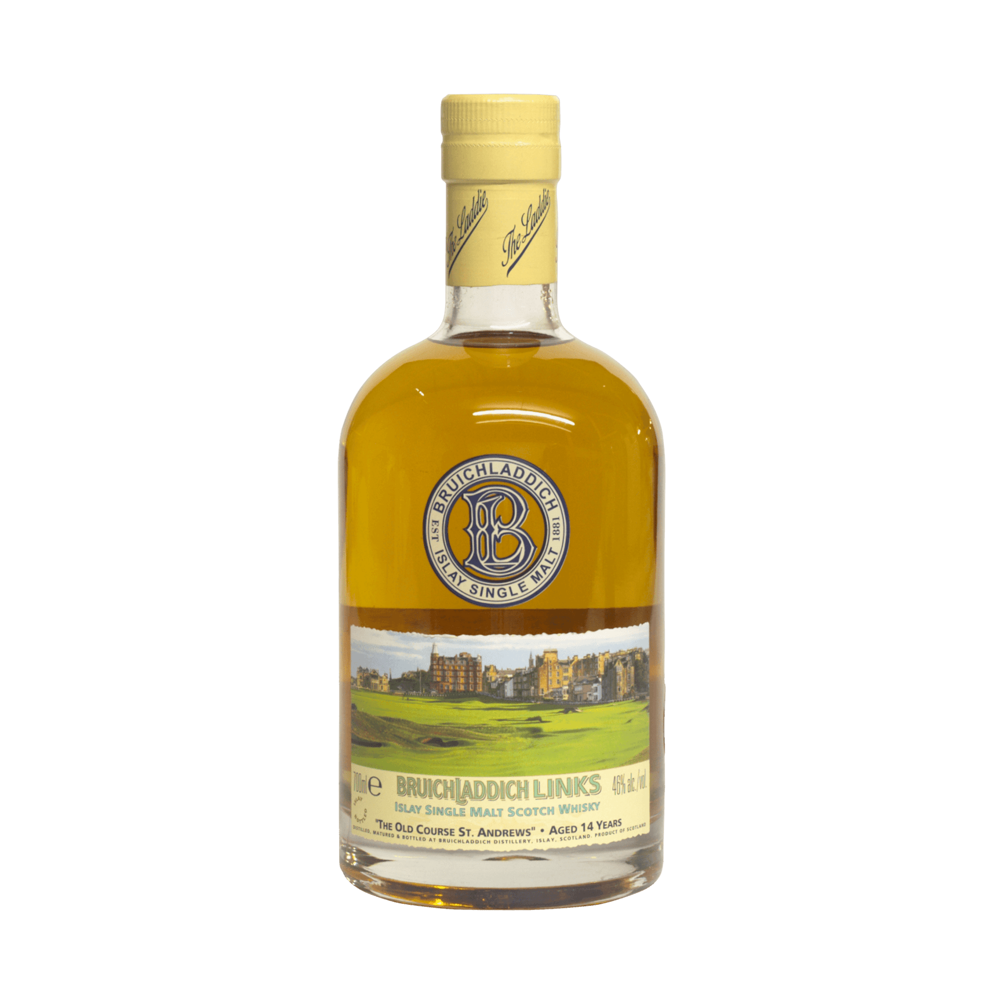 Bruichladdich 14 Year Old 'Links – The Old Course St Andrews' 46.00%
