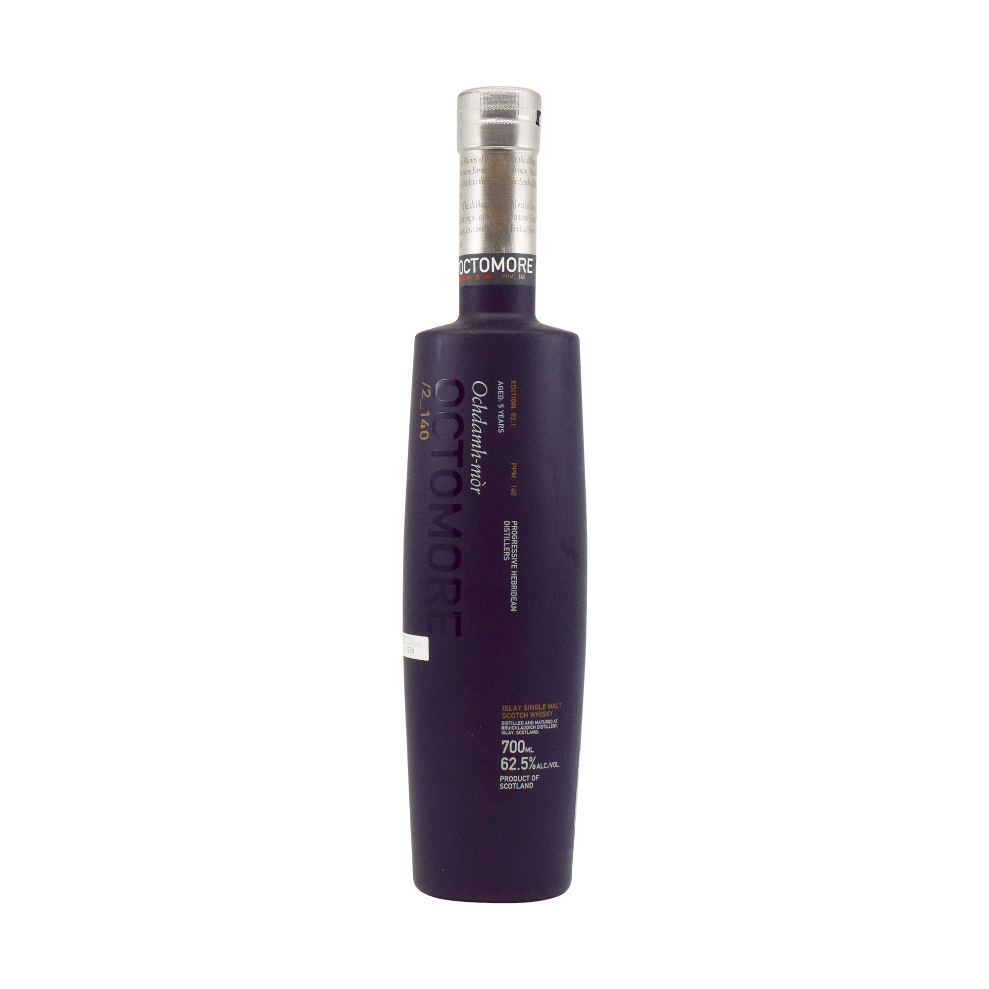 Bruichladdich 5 Year Old 'Octomore 02.1' 62.50% 70cl