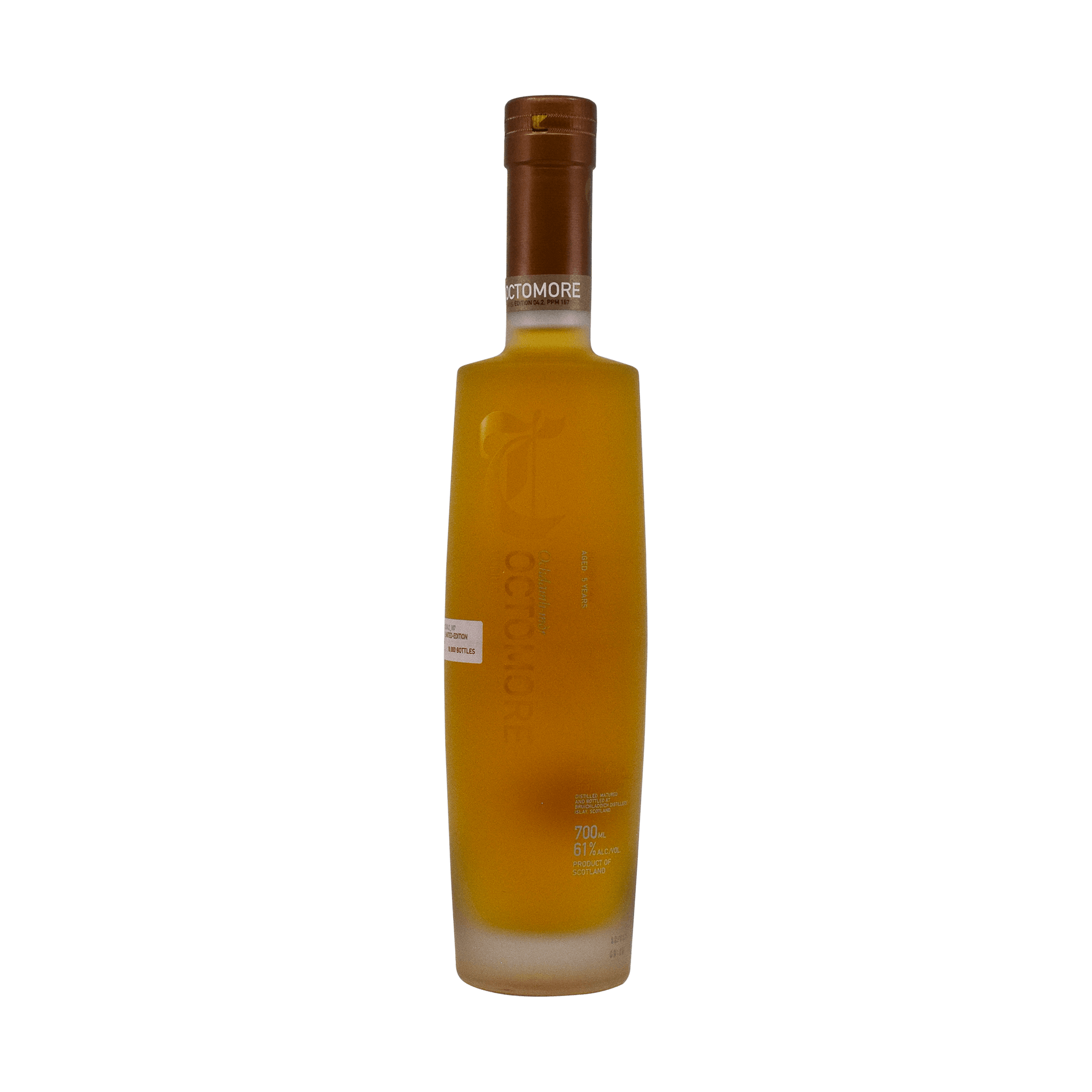 Bruichladdich 5 Year Old 'Octomore 04.2 Comus' 61.00% 70cl