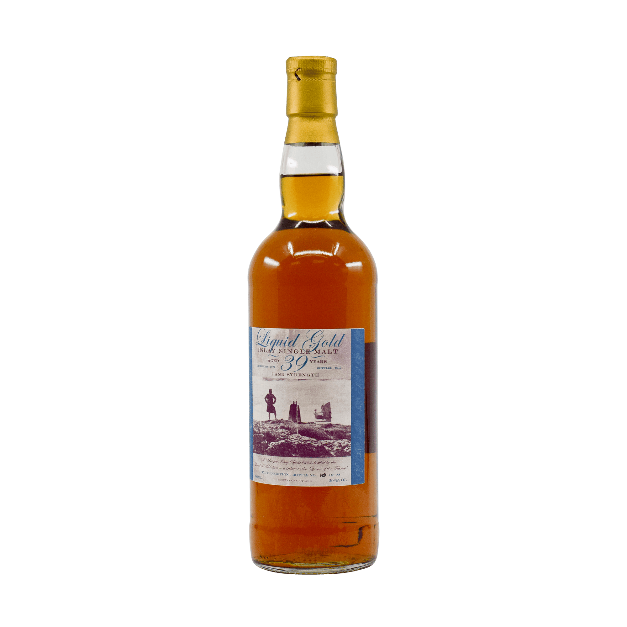 Bruichladdich 1971 39 Year Old 'Liquid Gold' 39.00% 70cl