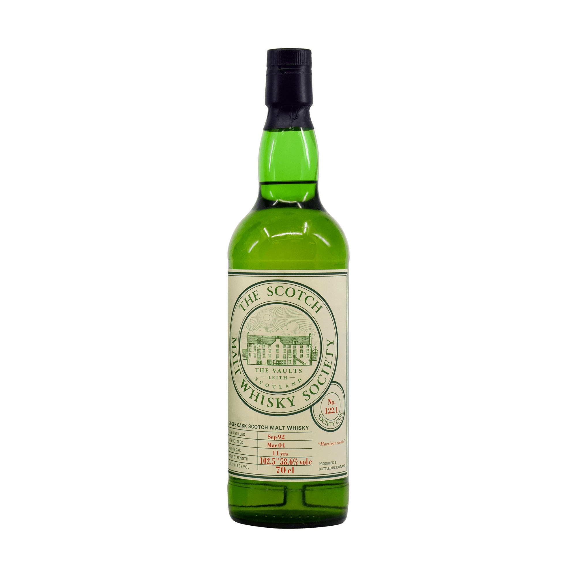 Croftengea 1992 11 Year Old 'Marzipan Smoke' SMWS 58.60% 70cl