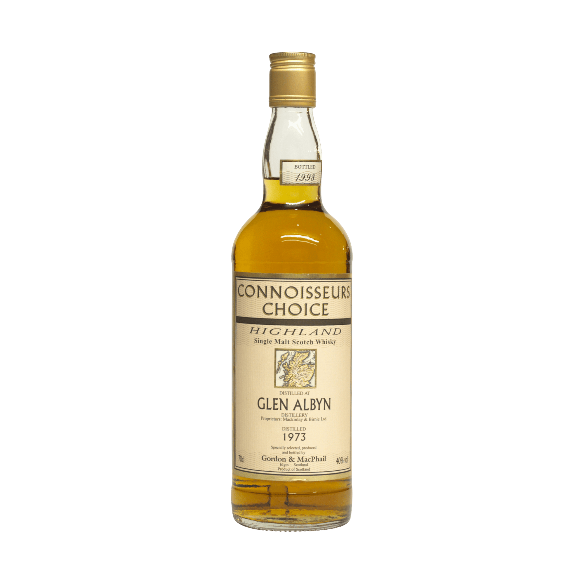 Glen Albyn 1973 25 Year Old 'Connoisseurs Choice' Gordon & MacPhail 40.00%