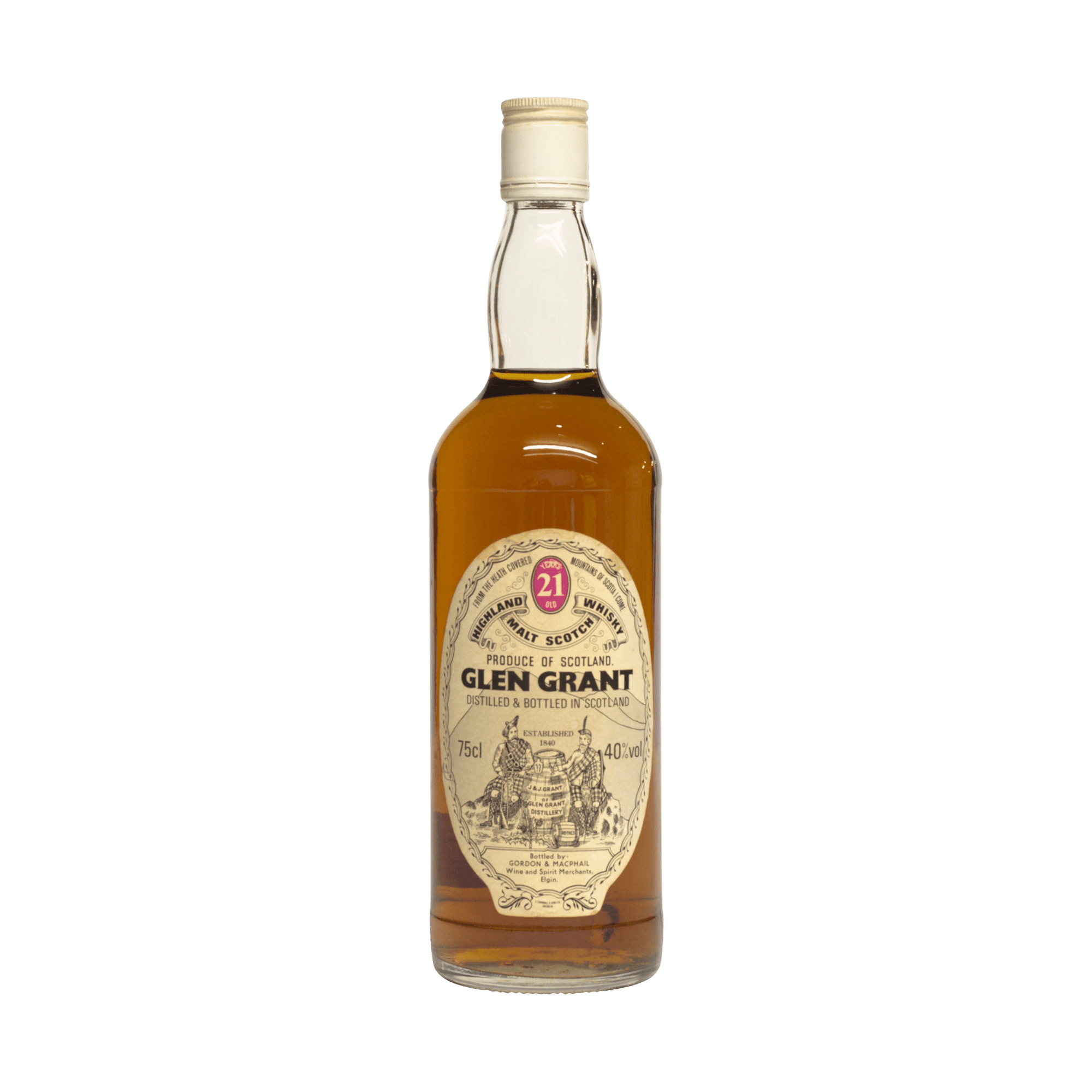 Glen Grant 21 Year Old Gordon & MacPhail 40.00%