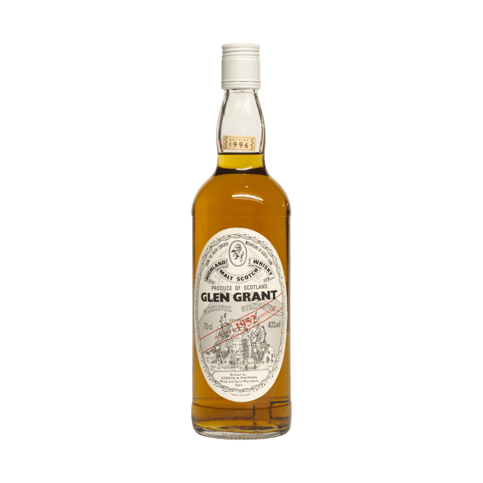 Glen Grant 1952 44 Year Old Gordon & MacPhail 40.00%