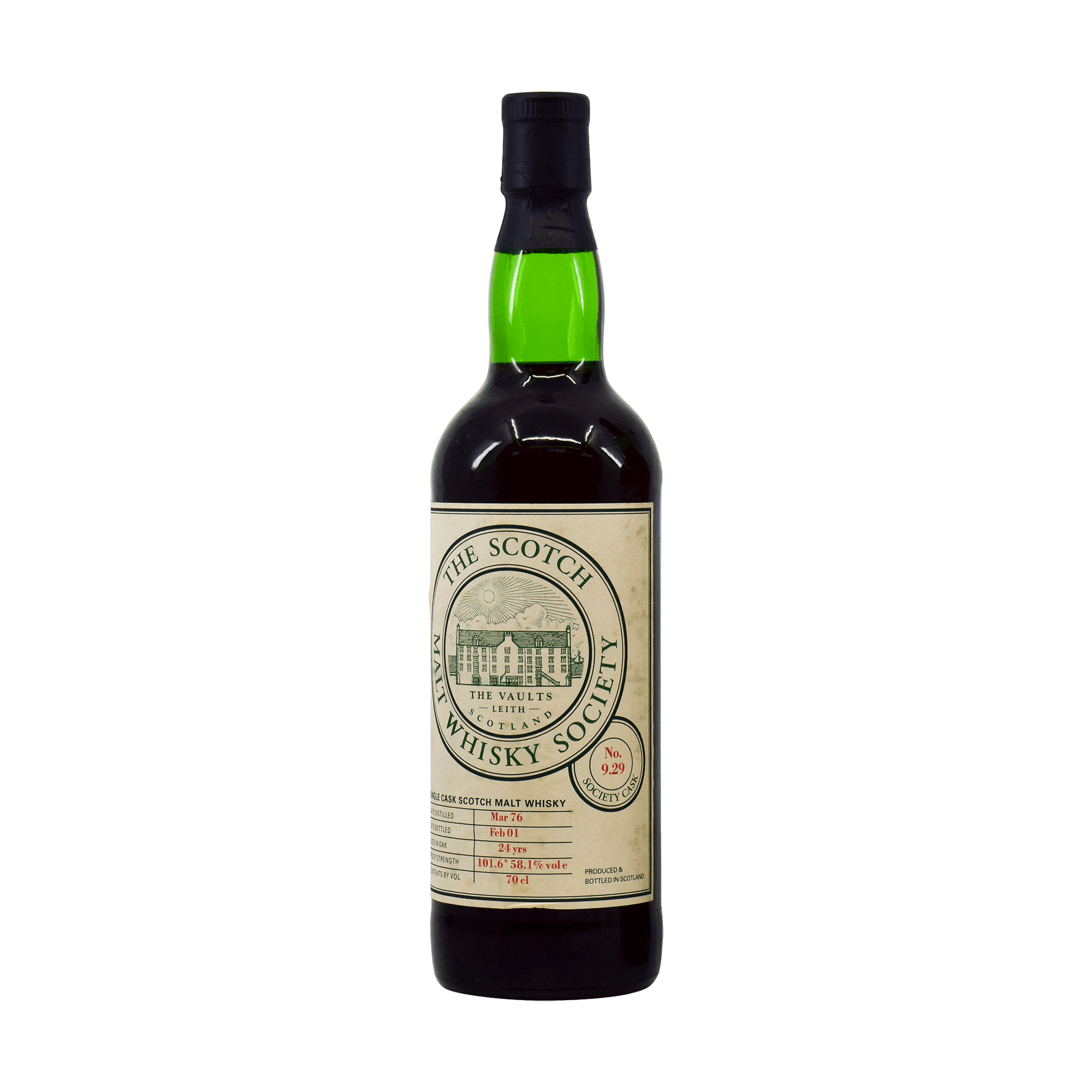 Glen Grant 1976 24 Year Old '9.29' SMWS 58.10% 70cl