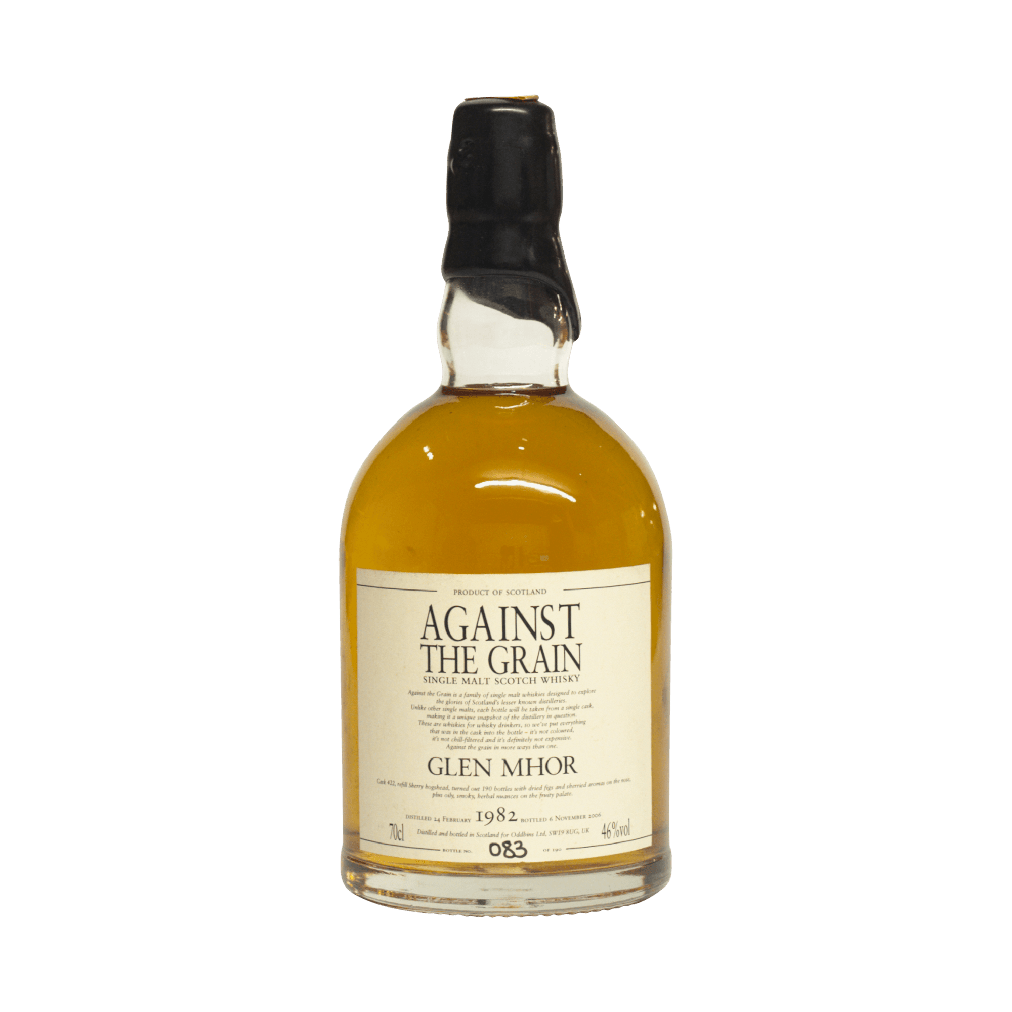 Against The Grain 1982 24 Year Old 'Glen Mhor' 46.00%