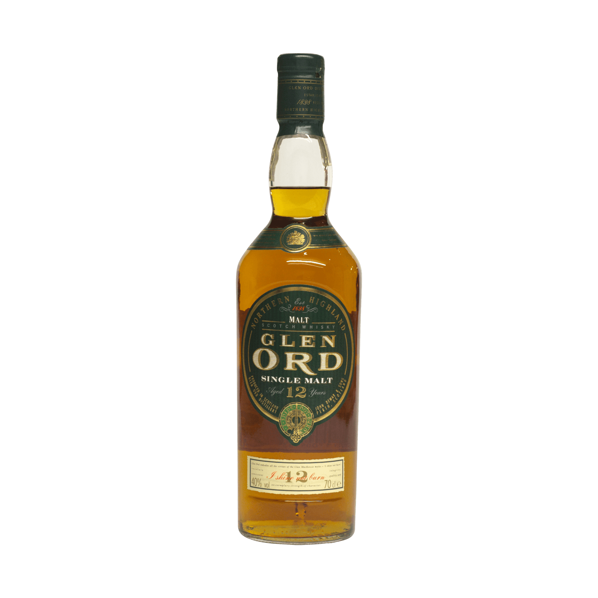 Glen Ord 12 Year Old 40.00%