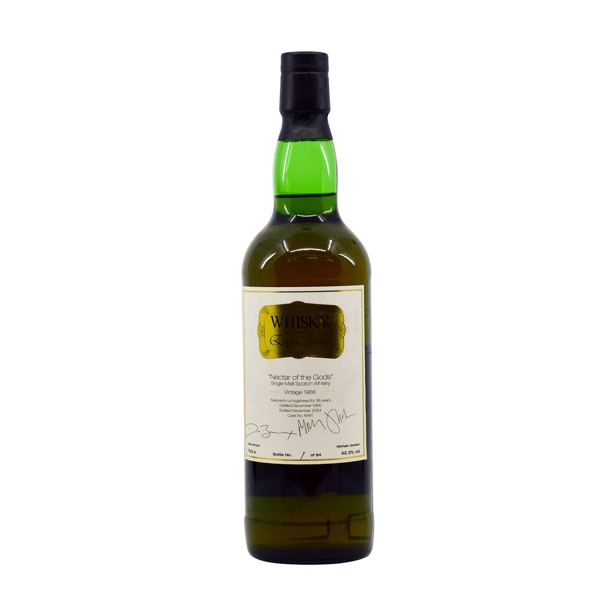Glenfarclas 1966 38 Year Old 'Nectar of the Gods' SMWS 42.30% 70cl