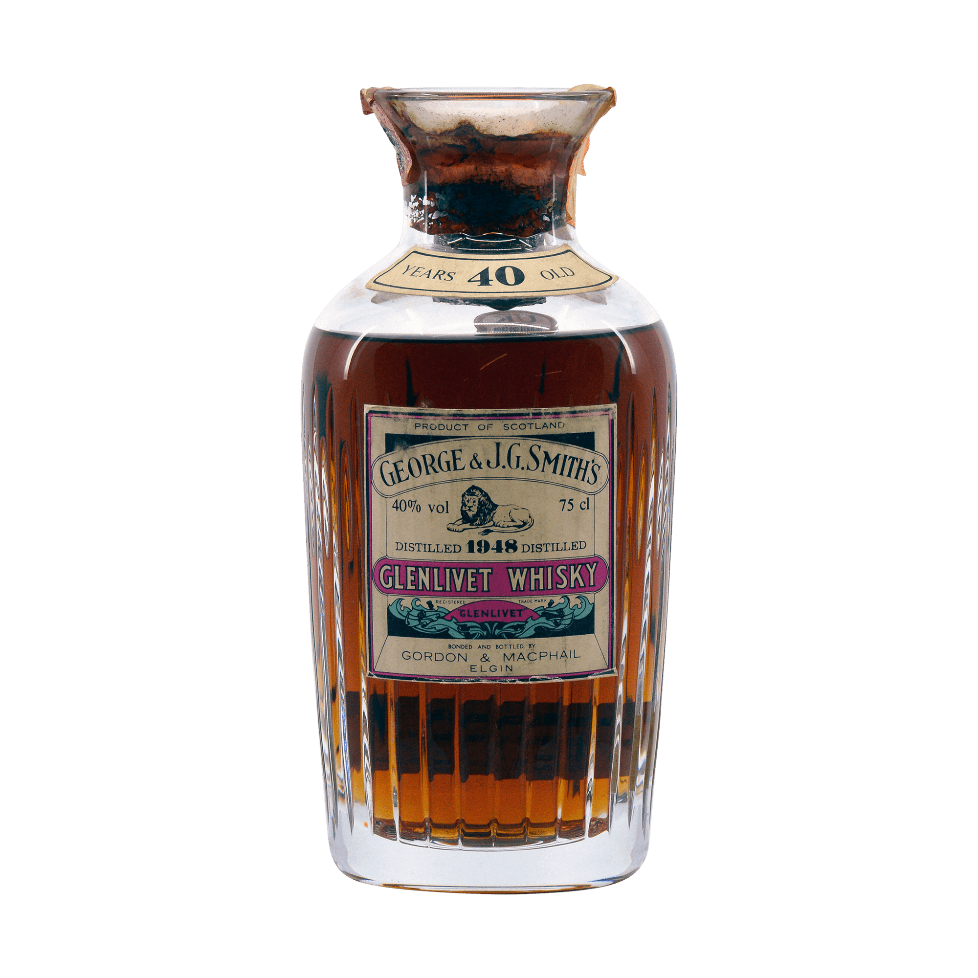 Glenlivet 1948 40 Year Old George and JG Smith 40.00%