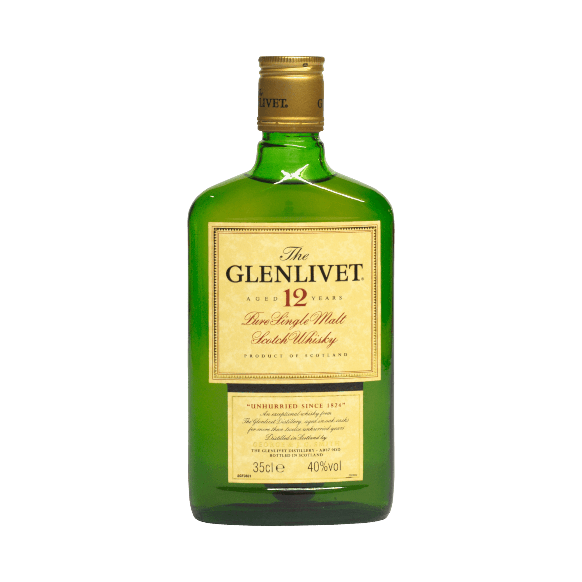 Glenlivet 12 Year Old George and JG Smith 40.00% 35cl