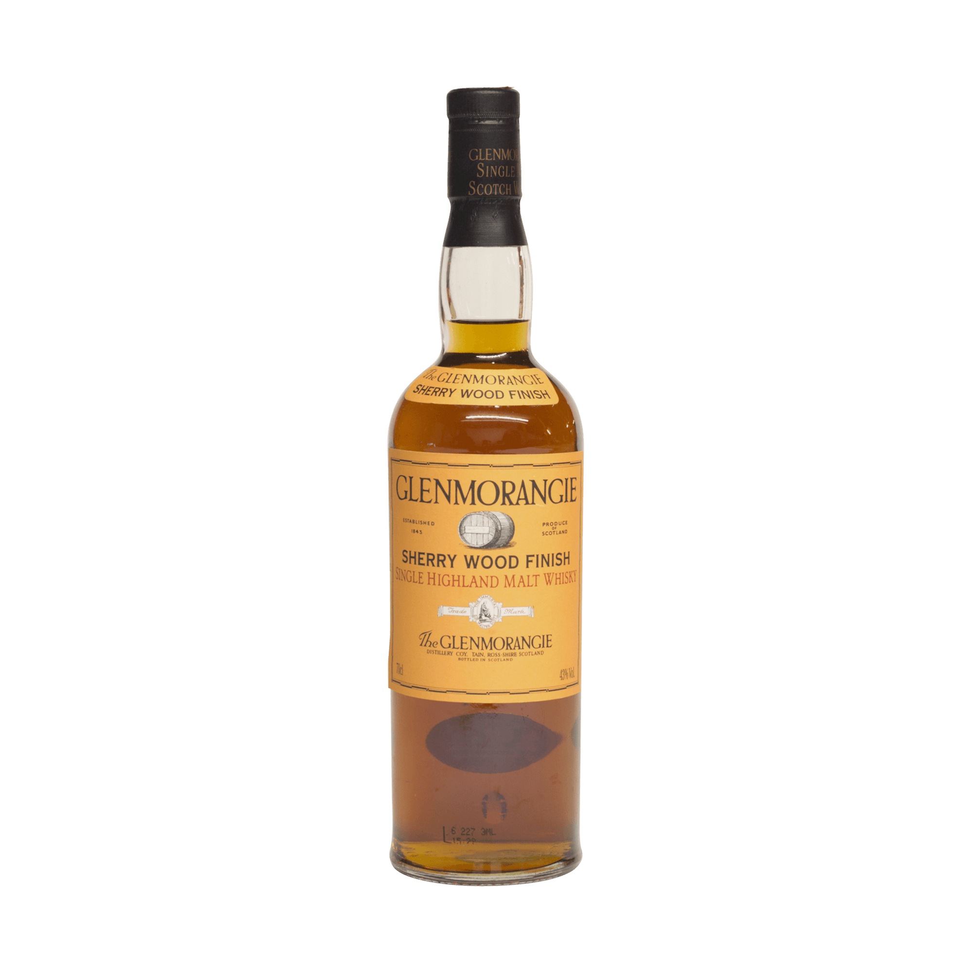 Glenmorangie Sherry Wood Finish 43.00%