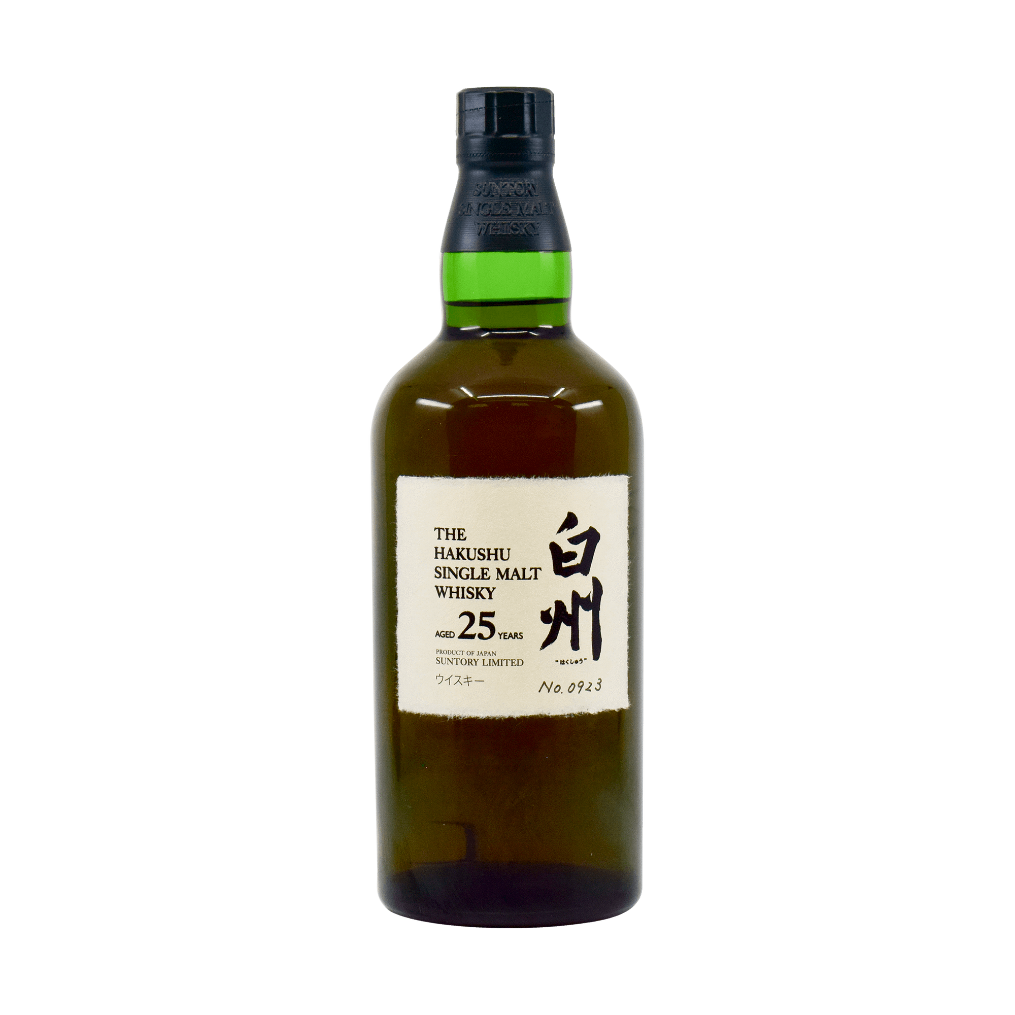 Hakushu 25 Year Old 43.00% 70cl