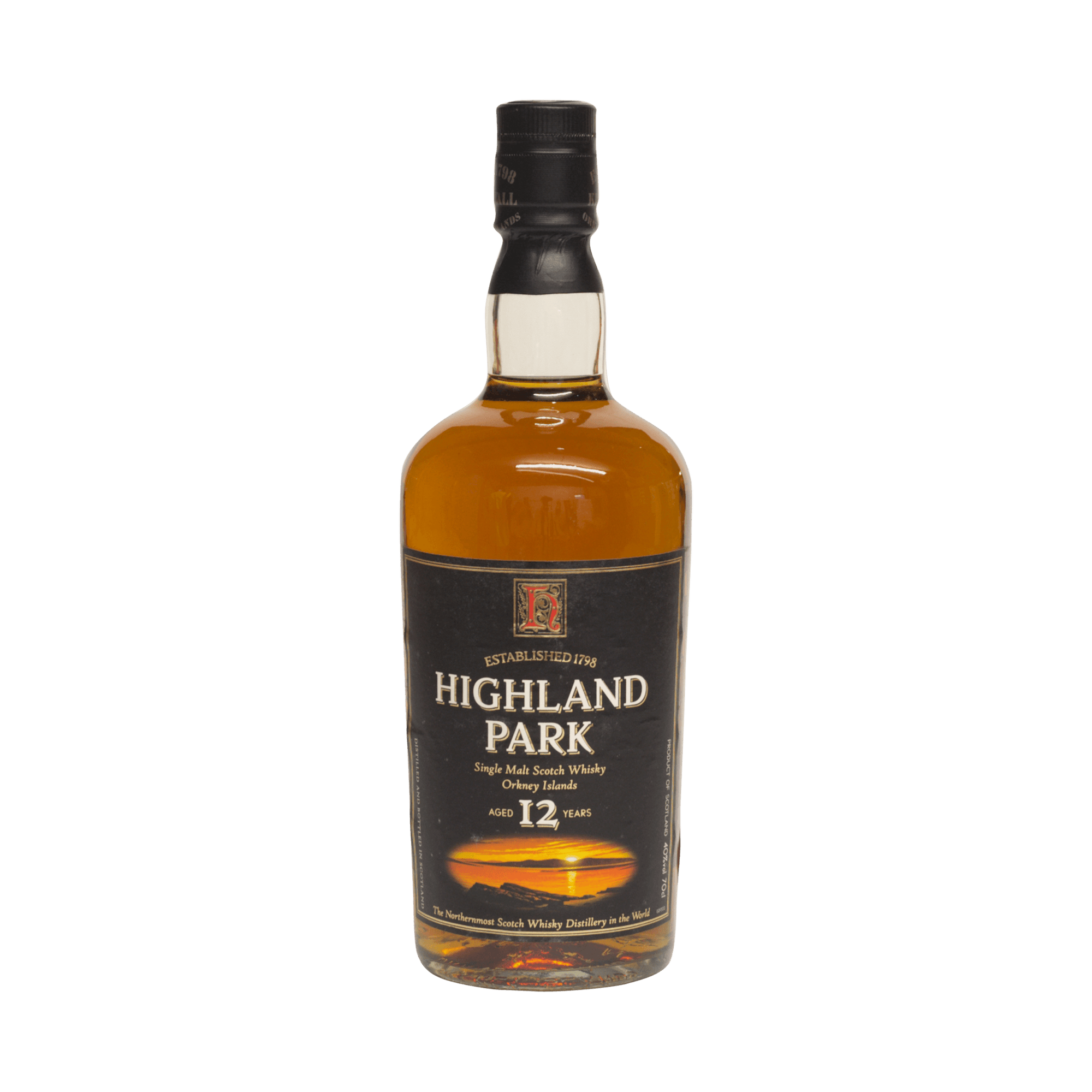 Highland Park 12 Year Old 40.00%
