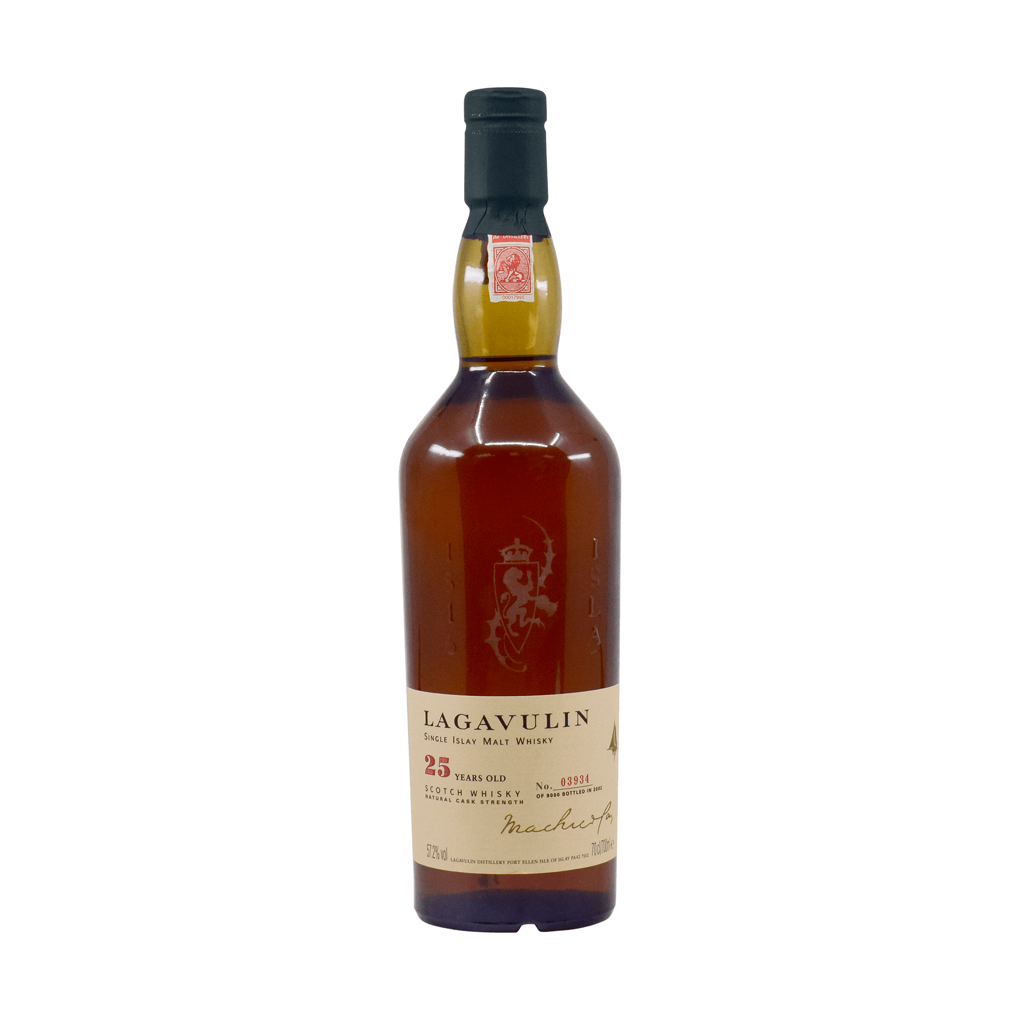 Lagavulin 1979 25 Year Old 57.20% 70cl