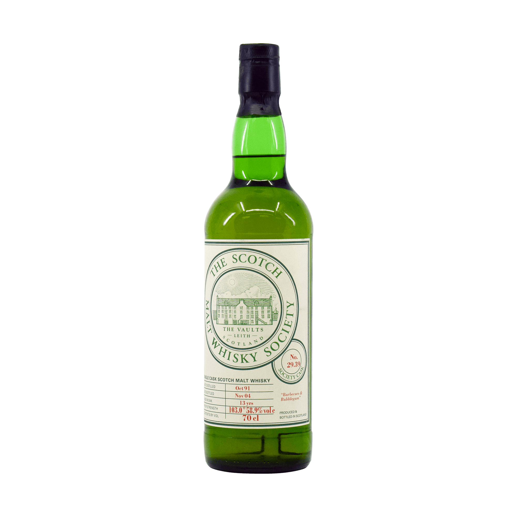 Laphroaig 1991 13 Year Old '29.39' SMWS 58.90% 70cl