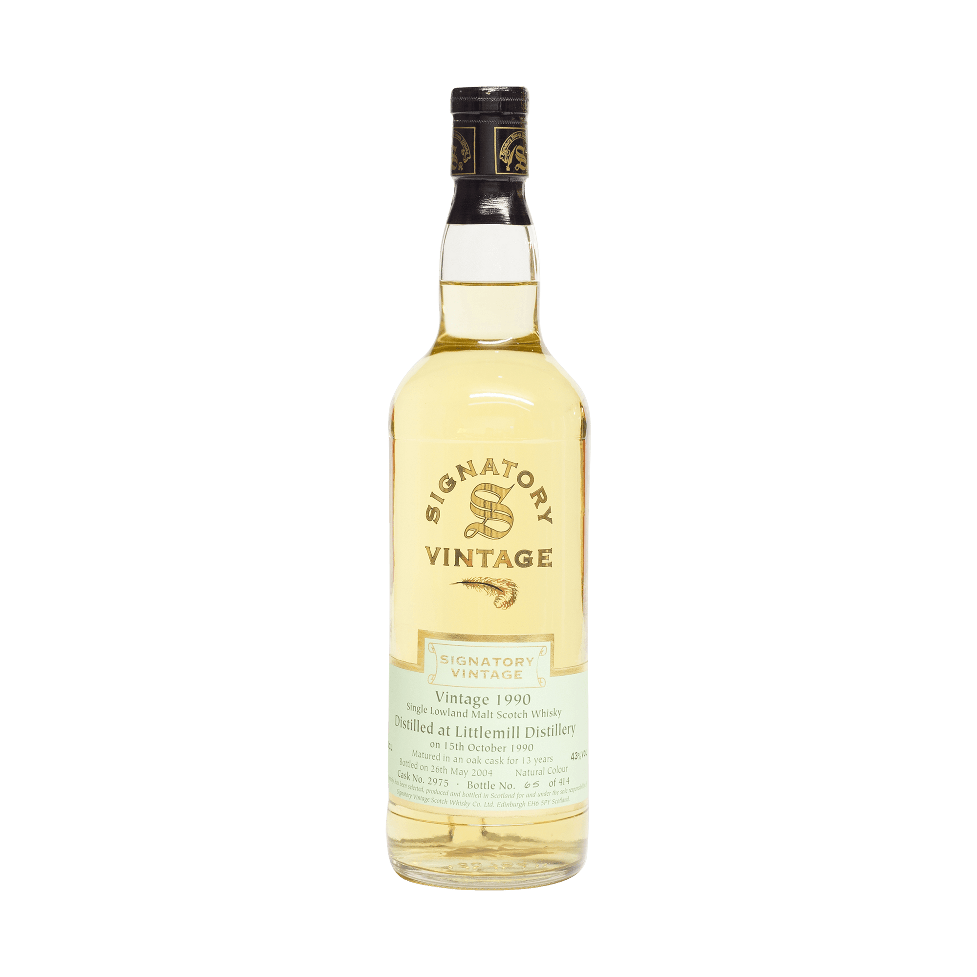 Littlemill 1990 13 Year Old Signatory Vintage SW 43.00% 70cl