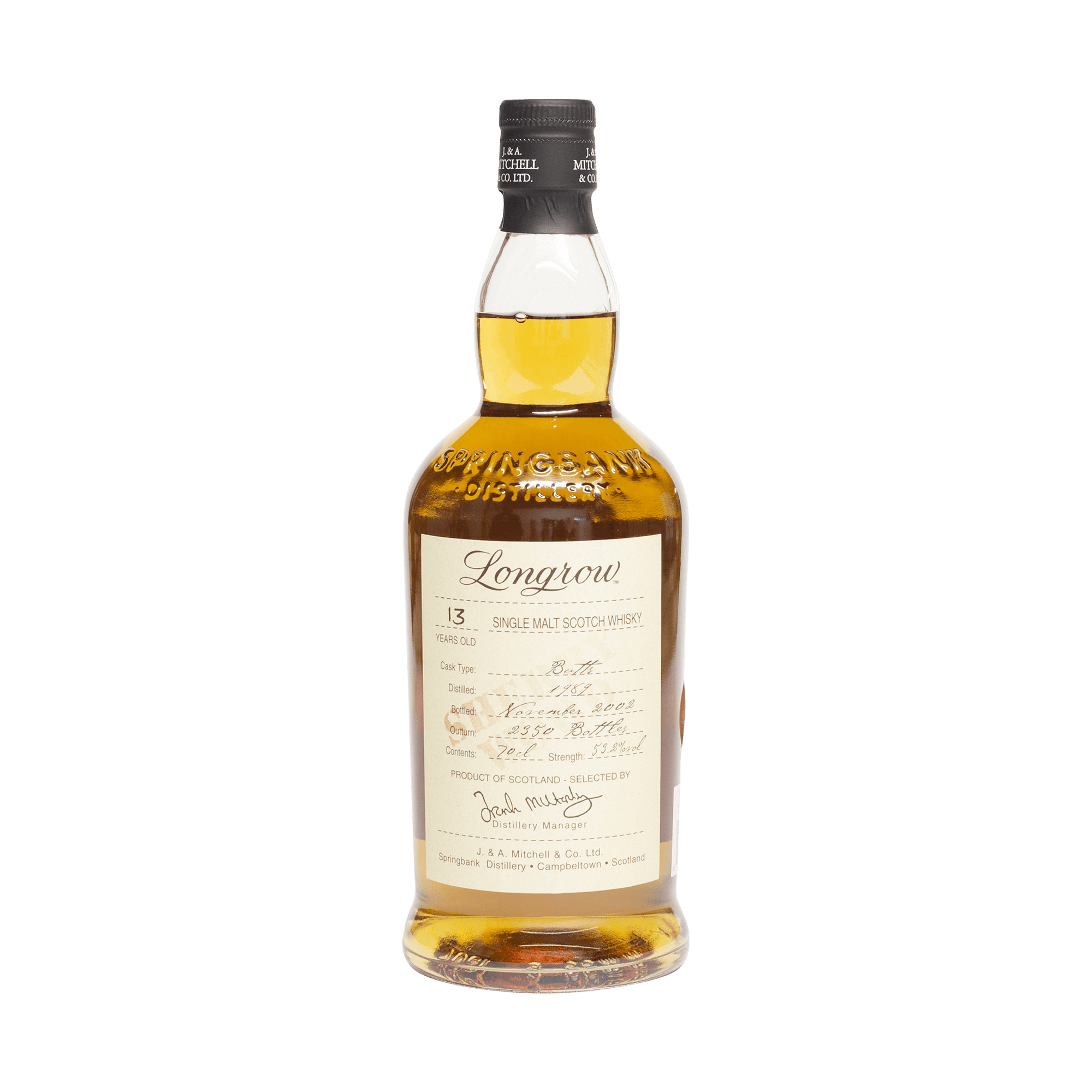 Longrow 1989 13 Year Old 53.20%
