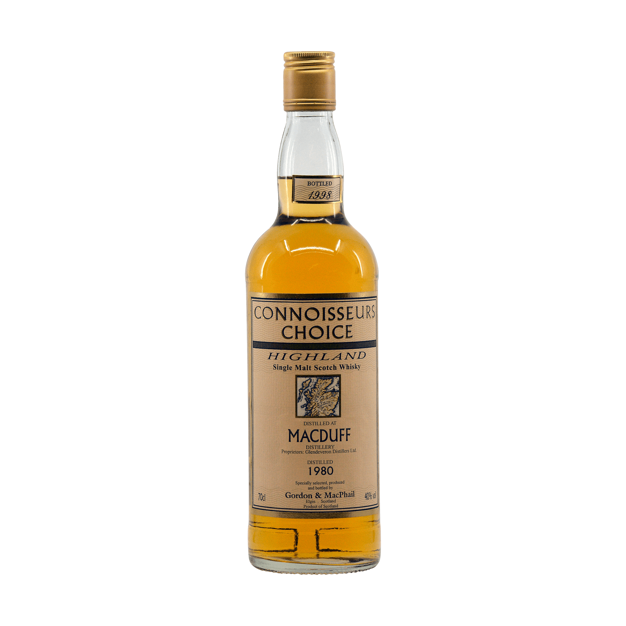 Macduff 1980 18 Year Old 'Connoisseurs Choice' Gordon & MacPhail 40.00%