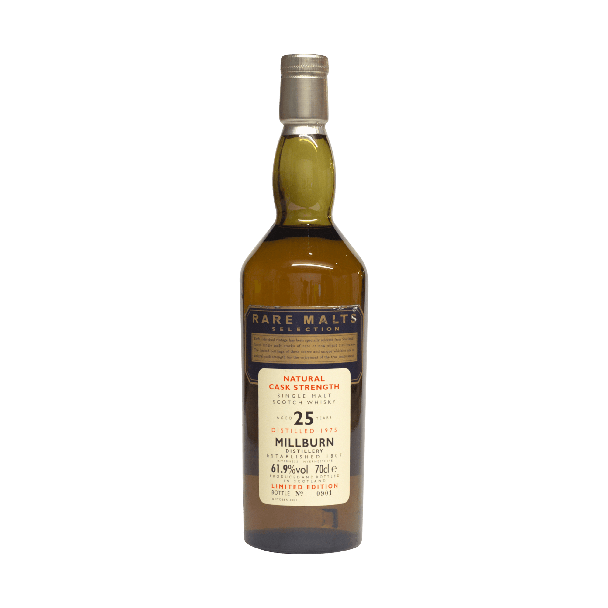 Millburn 1975 25 Year Old Rare Malts Selection 61.90%