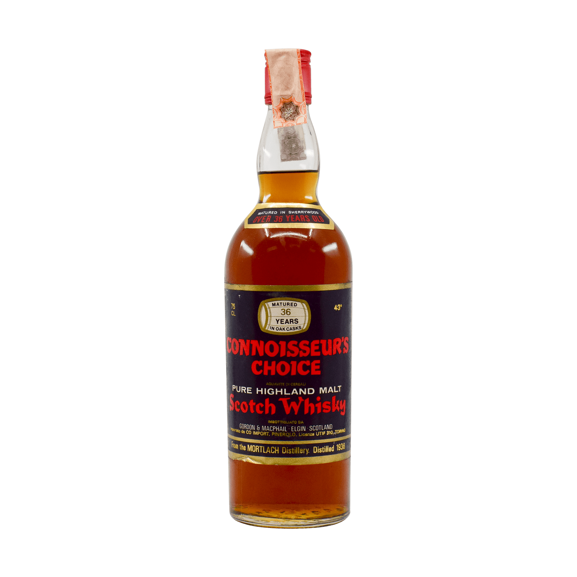 Mortlach 1936 36 Year Old 'Connoisseurs Choice' Gordon & MacPhail 43.00% 75cl