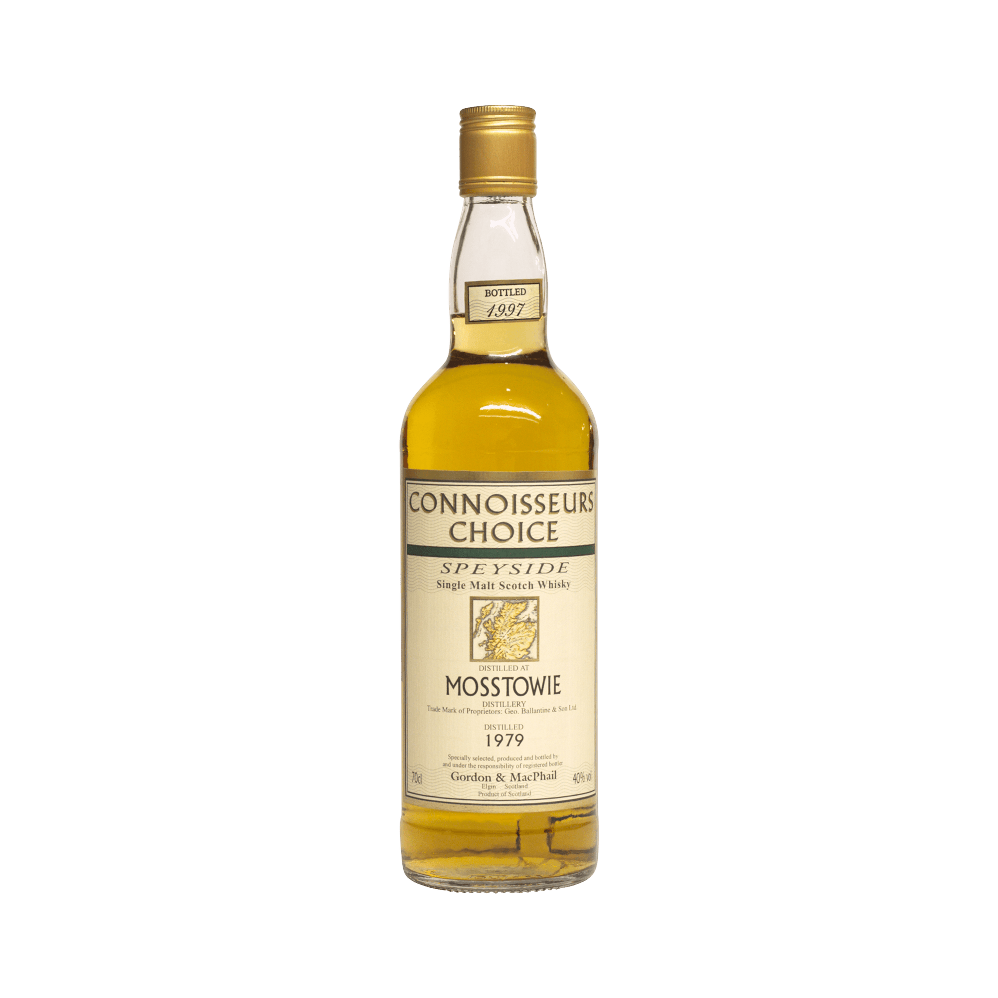 Mosstowie 1979 18 Year Old 'Connoisseurs Choice' Gordon & MacPhail 40.00%