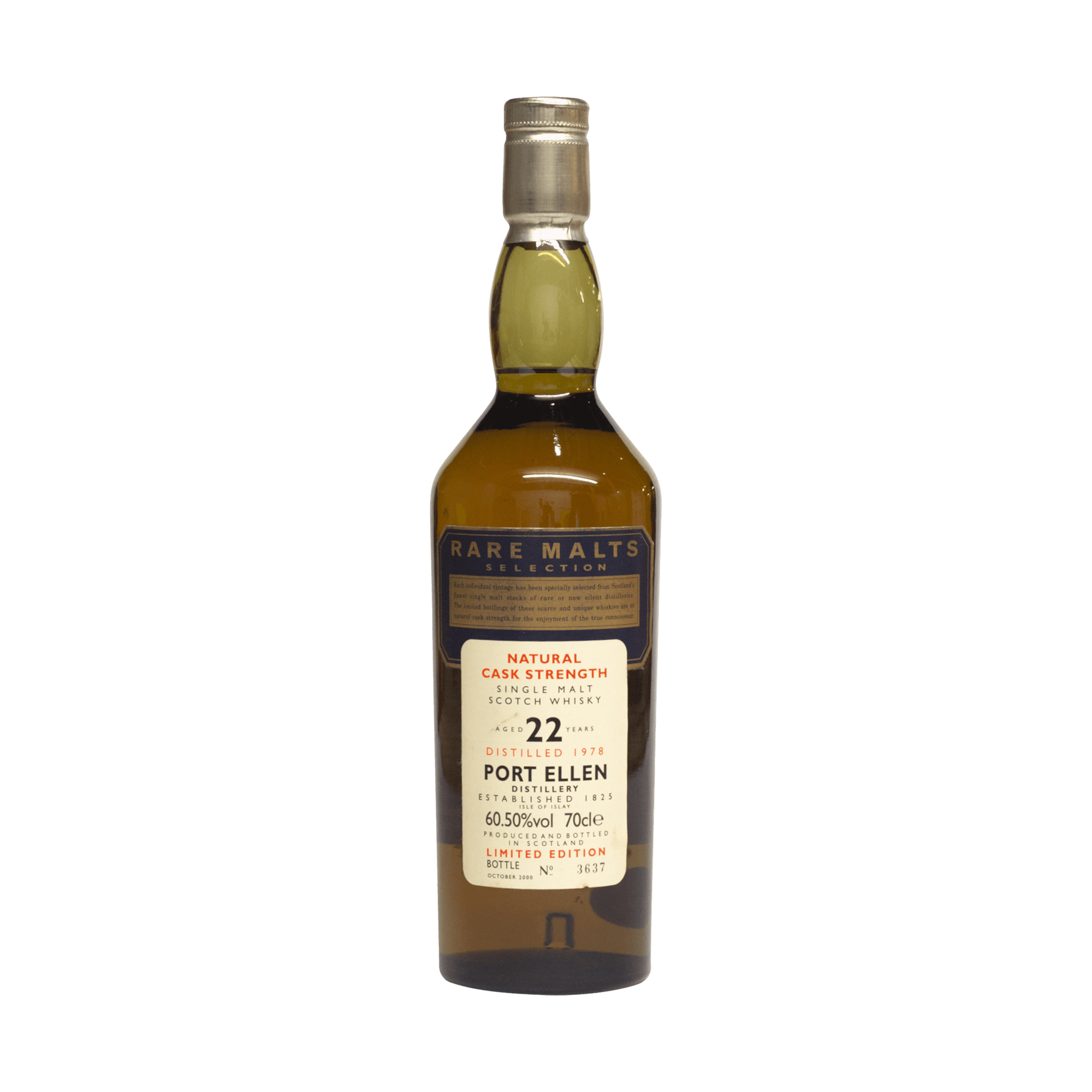 Port Ellen 1978 22 Year Old Rare Malts Selection 60.50%