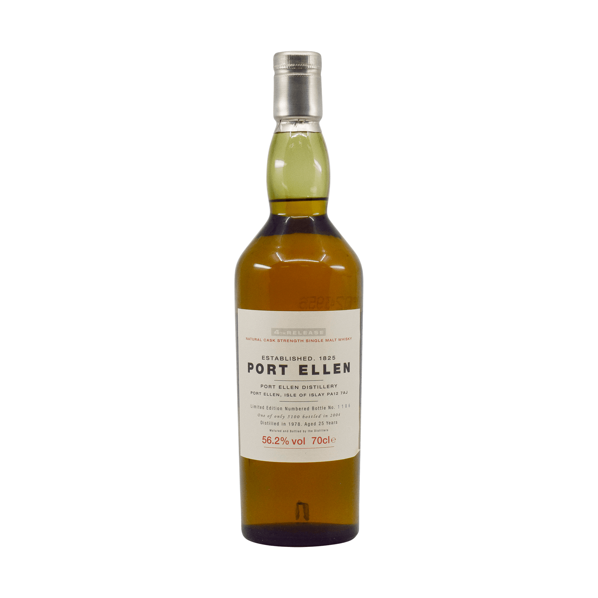 Port Ellen 1978 25 Year Old 'Fourth Release' 56.20% 70cl