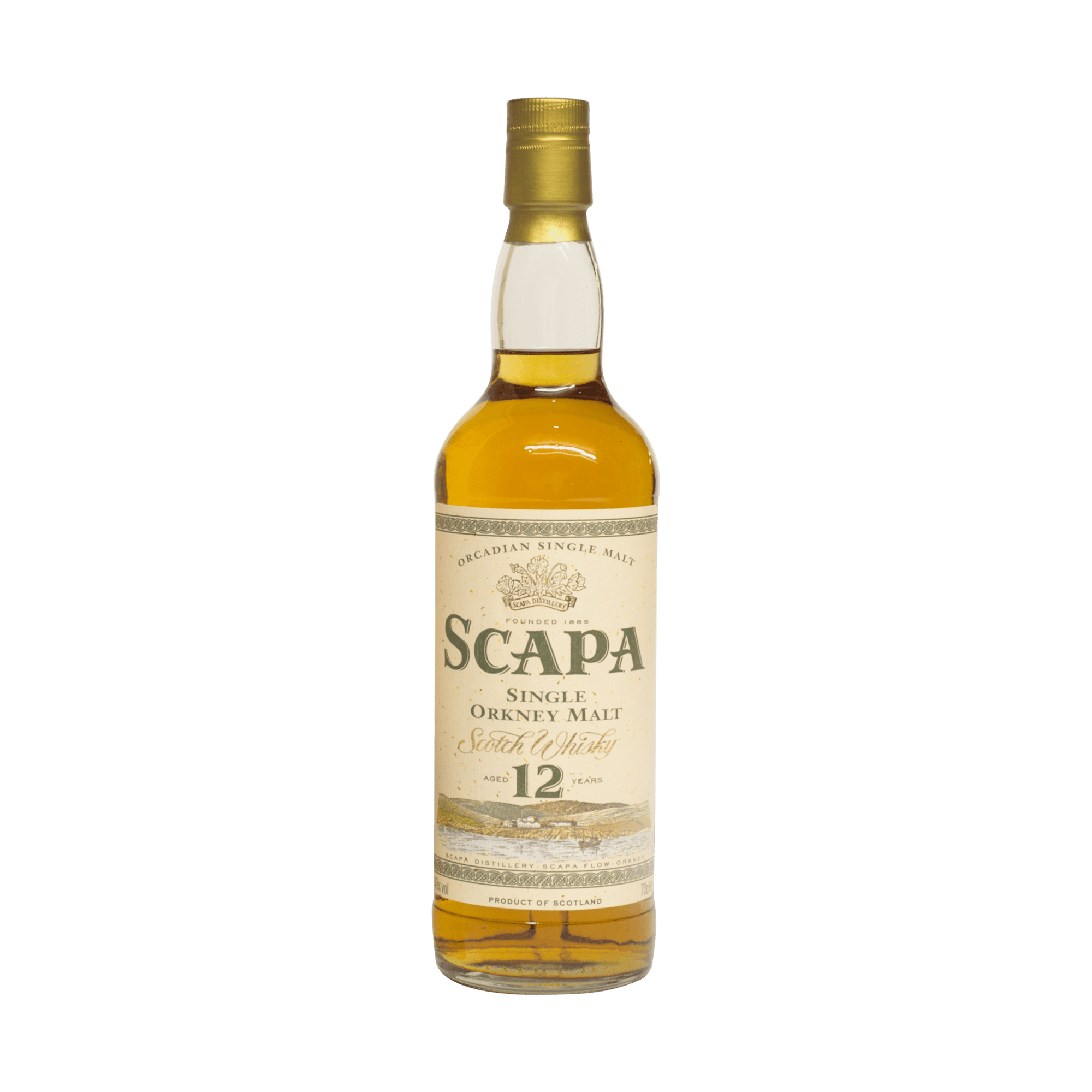 Scapa 12 Year Old 40.00% 70cl