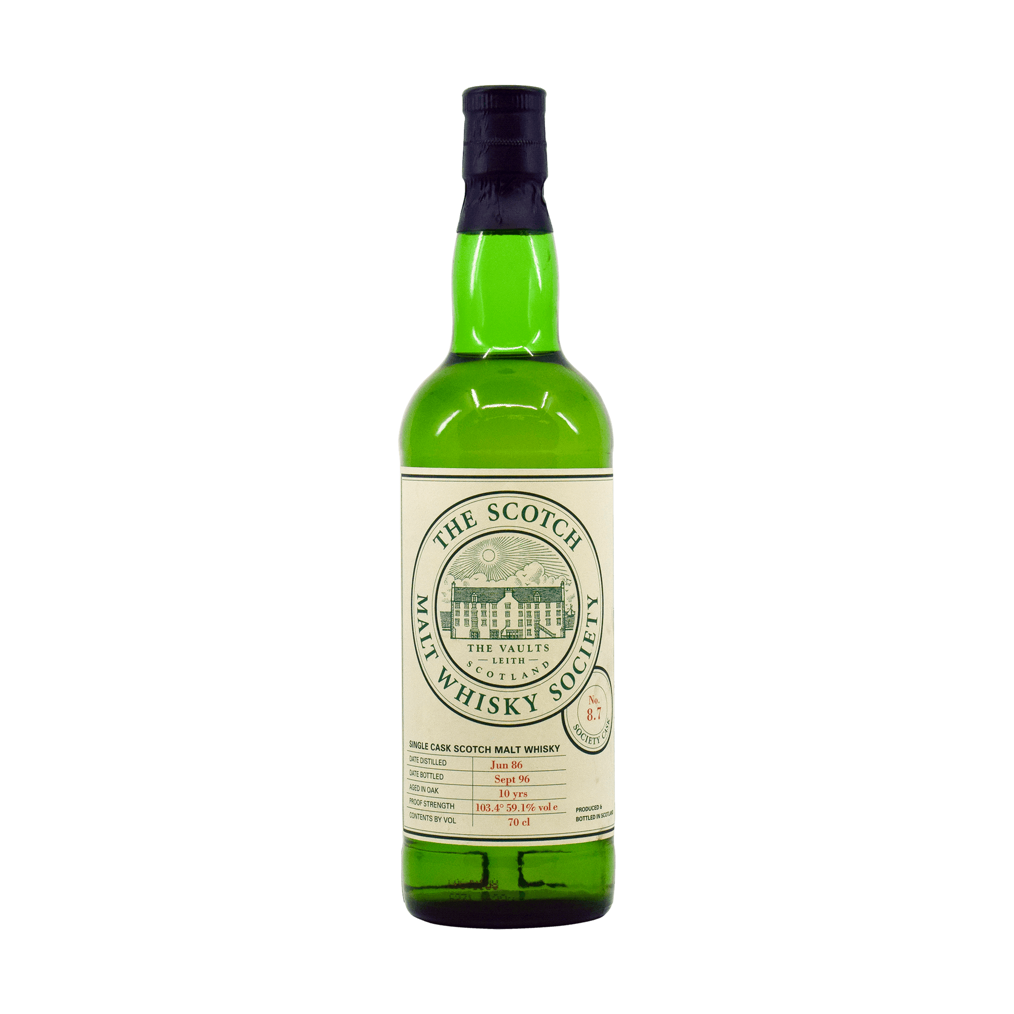 Tamdhu 1986 10 Year Old '8.7' SMWS 59.10% 70cl