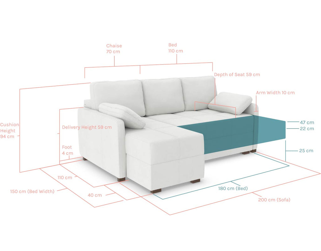 Ashley Corner Sofa Bed