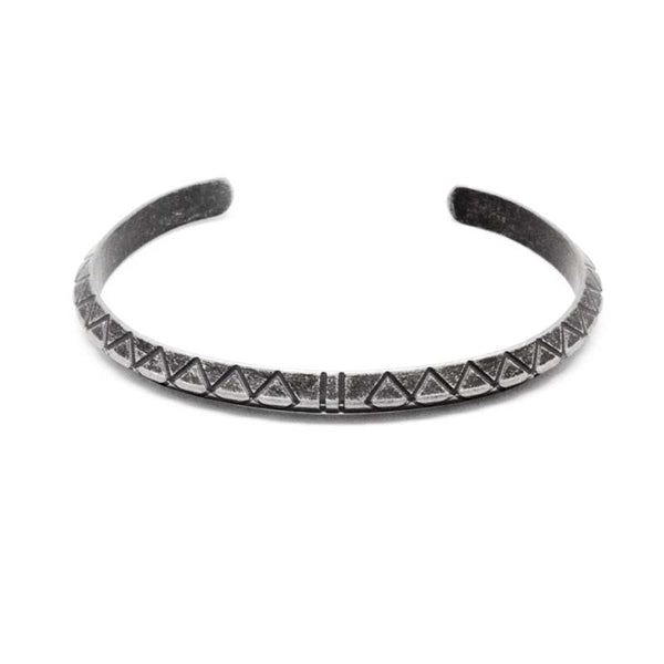 STEEL  CUFF BANGLE | STB473 - Zawadis.com