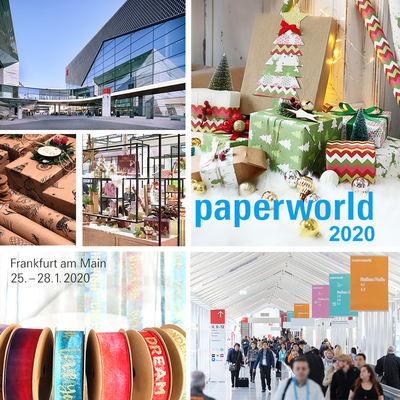PAPERWORLD 2020 - Frankfurt am Main, Germany
