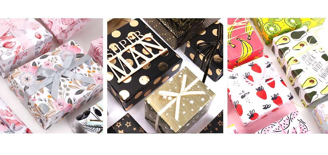 Everyday wrapping paper collections