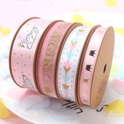 Pink Birthday Ribbon Collection