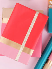 Modern Gold Stripe Gift Wrap Bundle