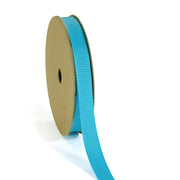 "3/8"" - 7/8"" Wholesale Premium Textured Grosgrain Ribbon - Lt Blue Collection"