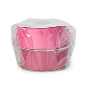 "LaRibbons 1 1/2"" Solid Grosgrain Ribbon Hot Pink/Shocking Pink Spool Bundle 2 - 20 Yard Spools"