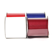"LaRibbons 2 1/4"" Textured Grosgrain Ribbon Patriotic Spool Bundle 4 - 5 Yard Spools (20 Yards Total)"