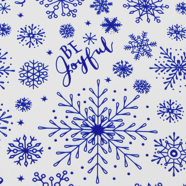 "Blue ""Winter Scene"" Wrapping Paper - 4 Roll Pack"