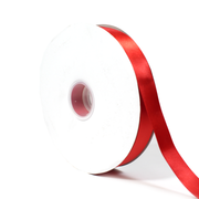 1 inch white double face satin ribbon 100 yards