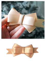 12pcs Gold Satin Ribbons Gift Wrapping Supplies Gift Bow Bundle