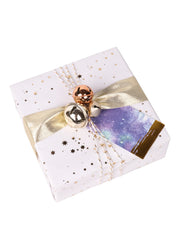 "2"" x 3 1/4"" Metallic Watercolor Gift Tag Bundle Purple Multi/Gold - 3 Pcs/Bag - 6 Bags/Bundle (18 Pieces Total)"