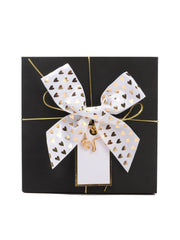 12pcs Gifts Wrapping Collection Gift Bows Bells Gift Box Topper with Gold String for Gifts Wrapping